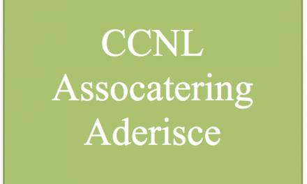 CCNL: ASSOCATERING aderisce alla Parte Generale