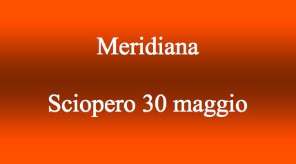 Meridiana: nuovo sciopero 30 maggio 2014