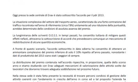 Comunicato PDR 2013