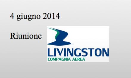 Livingston: riunione 04 giugno