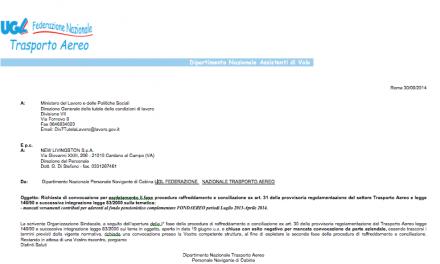 FONDAEREO: attivata la II Fase Procedura raffreddamento