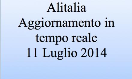 Alitalia: aggiornamento in tempo reale