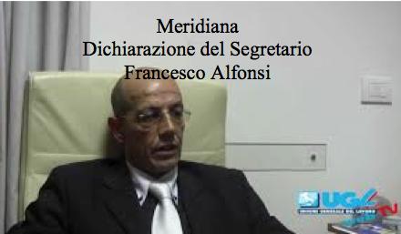 Meridiana – Dichiarazione del Segretario Francesco Alfonsi