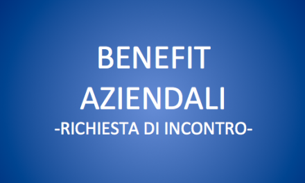 BENEFIT AZIENDALI