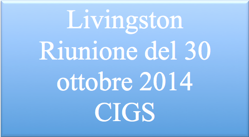 Livingston – Accordo CIGS –