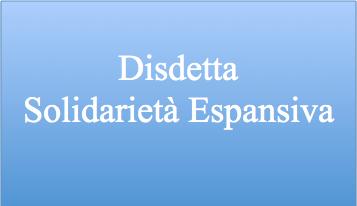 Alitalia disdetta SOE
