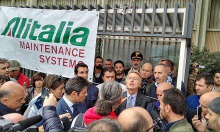 Personale di Terra – Alitalia Maintenance Systems – Apprezzamento per le dichiarazioni del Presidente di Alitalia Montezemolo