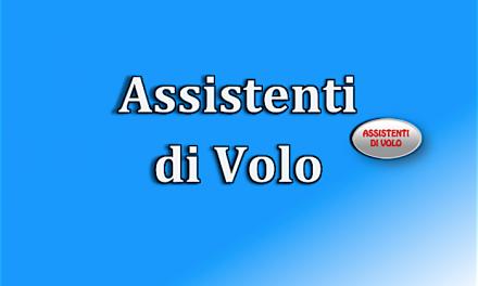 Assistenti di Volo – Alitalia – Richiesta Incontro RLS