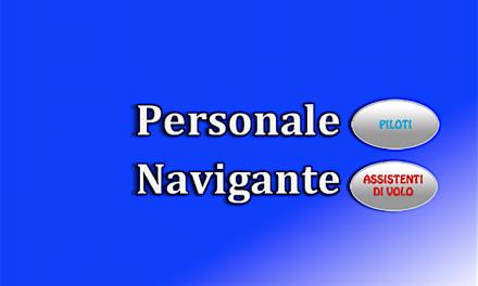 """Personale Navigante – Blue Panorama – Reitera segnalazione ENAC """"riposi minimi"""""""