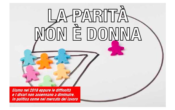 8 Marzo – La Parità non è Donna
