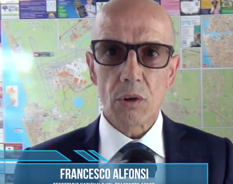 [Video] – Intervista al Segretario Francesco Alfonsi – Crisi del comparto aereo