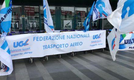 Trasporto Aereo – Sciopero Generale –  Presidio Aeroporto Leonardo Da Vinci