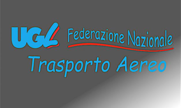 UGL-TA Documento Programmatico Trasporto Aereo e Alitalia